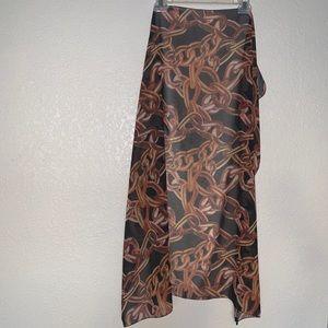 Trina Turk chain design scarf or wrap OS